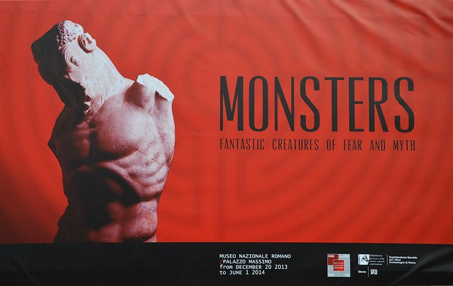 Monsters. Fantastic Creatures of Fear and Myth Exhibition, Palazzo Massimo alle Terme, Rome
