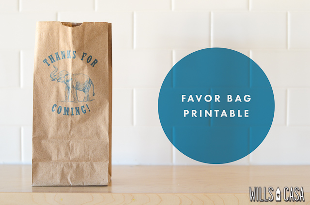 favor bag printable