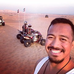 #desert #riders and my #beard at Al Badayer Desert #dubai #uae