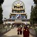 Namdroling Monastery arrival