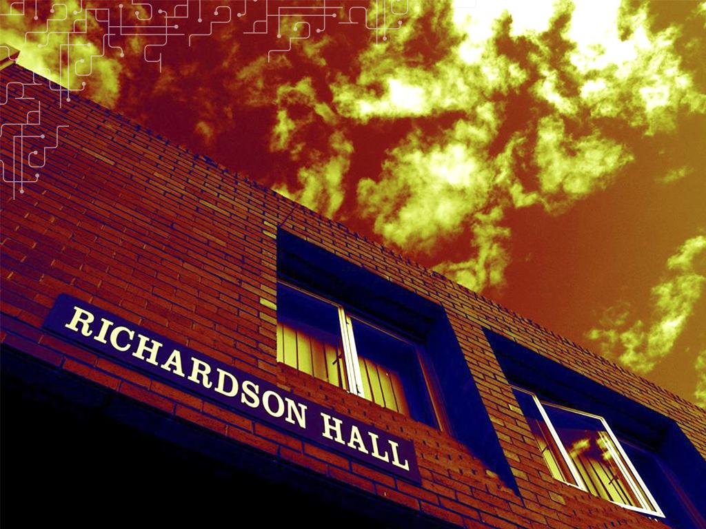 Richardson Hall - Um dos quatro Halls of Residence da Monash, Austrália