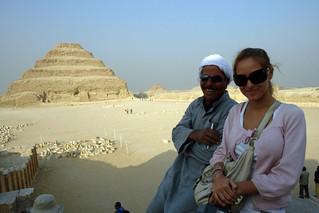 Pirámide escalonada de Zoser en Saqqara Pirámide escalonada de Zoser en Saqqara, la más sagrada - 13041000153 02f5423272 n - Pirámide escalonada de Zoser en Saqqara, la más sagrada
