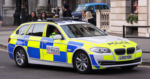 City of London Police BMW 530d Traffic Car - LV13 YZH
