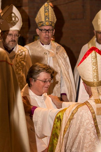 Dr Macneil, 59, a former Dean of Adelaide and a diplomat before ordination, moved from the Diocese of Canberra & Goulburn to her new role.