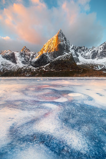 A Cold Morning In The Lofoten Islands, Norway