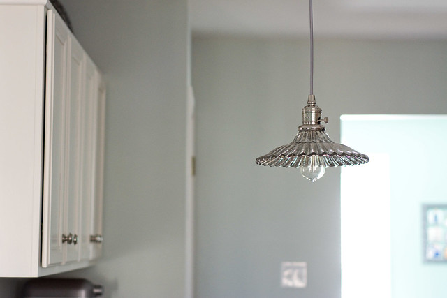 Whitney Pendant from Pottery Barn | Cook Like a Champion Kitchen Renovation