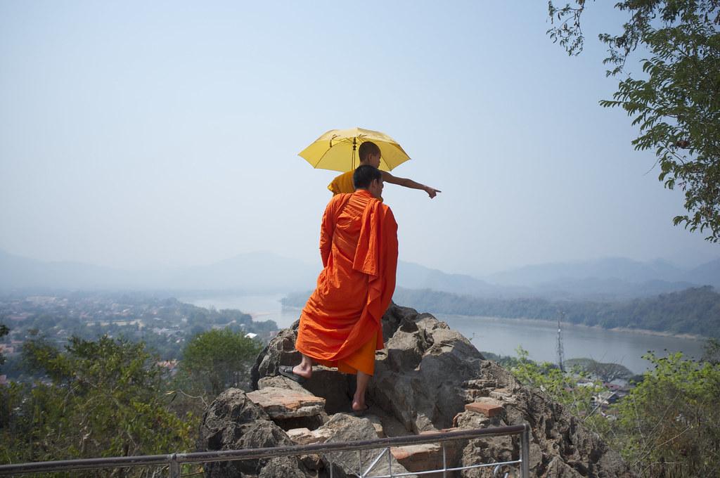 Wat Tham Phou Si, Luang Prabang