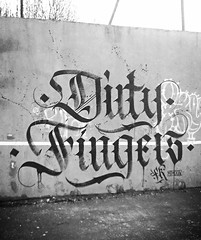Dirty Fingers Calligraffiti