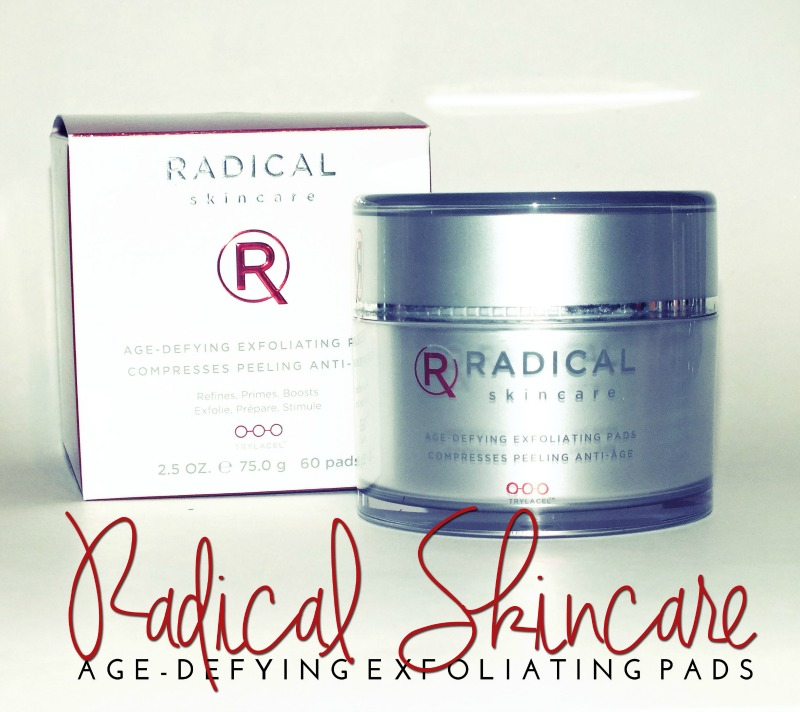 Radical Skincare Age Defying Exfoliating Pads (3)