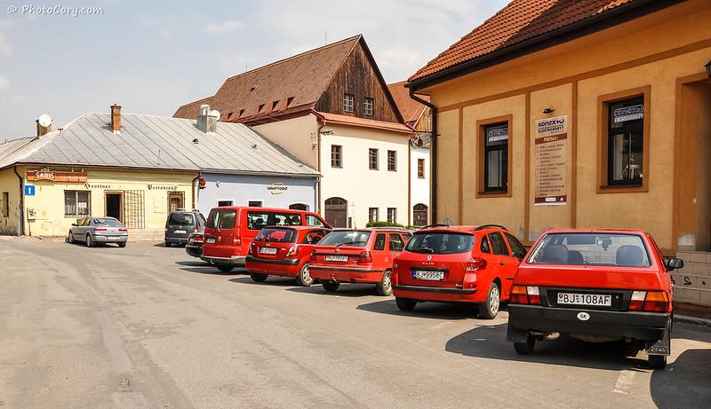 red cars, slovakia