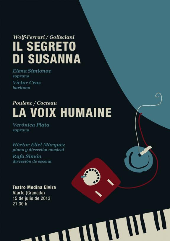 Programa doble: El secreto de Susana - La voz humana