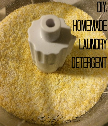 homemade laundry detegent