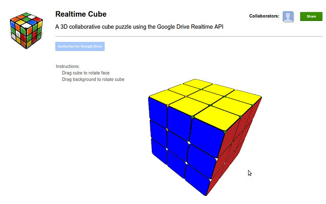 Realtime Cube