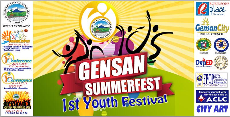 GenSan Summerfest: 1st Youth Festival