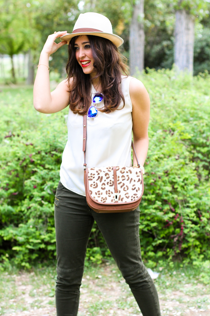 look del blog de moda estilo safari