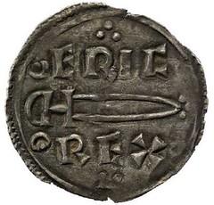 Coin of King Eirik Bloodaxe