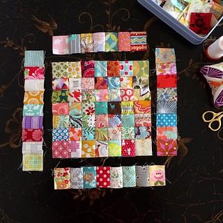 "1"" Postage Stamp Quilt"