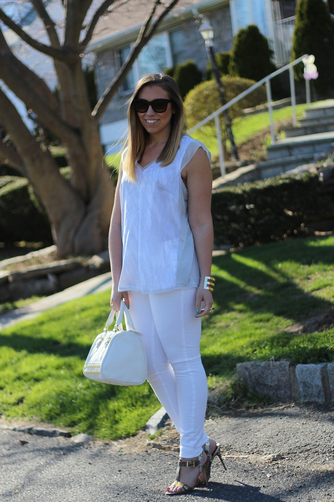 East vs. West Style: White Jeans on Living After Midnite