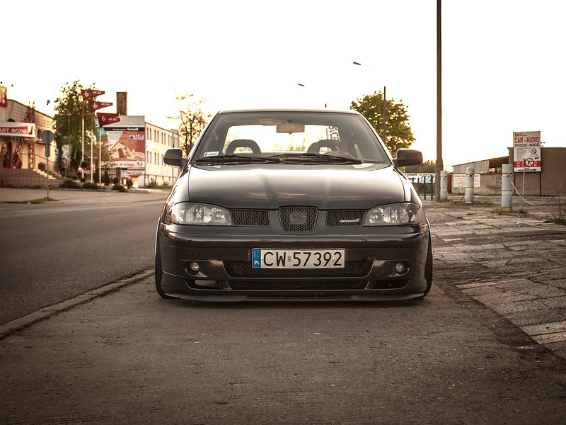 Seat Cordoba Coupe Stanced Euro Car By Mlay