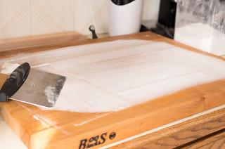 Floured board