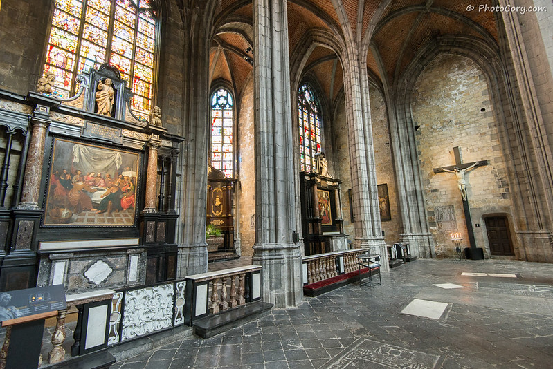 Sainte Waudru interior
