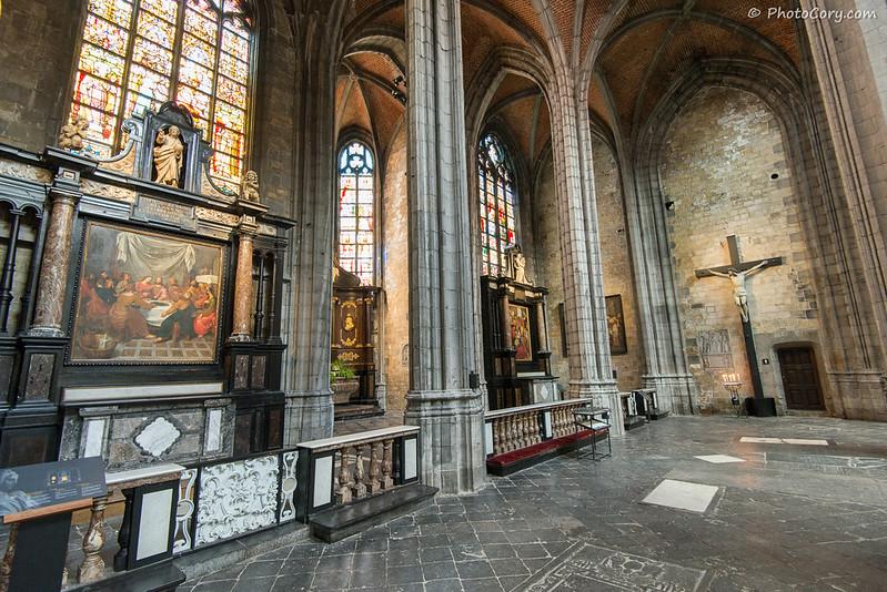Sainte Waudru interior