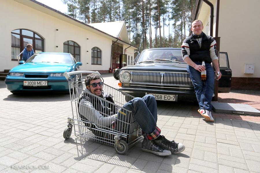 второй фестиваль stance автомобилей Грабли 2014 прошел под Минском.
