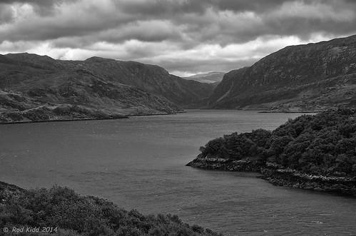 monochrome landscape scotland pentax k5 pentaxda1650mmf28 lochgleanndubh
