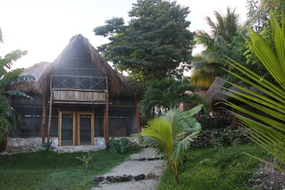 Camping Tribu.  Bacalar, Mexico.