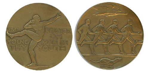 SPEED AND STRENGTH ART MEDAL BY McKenzie