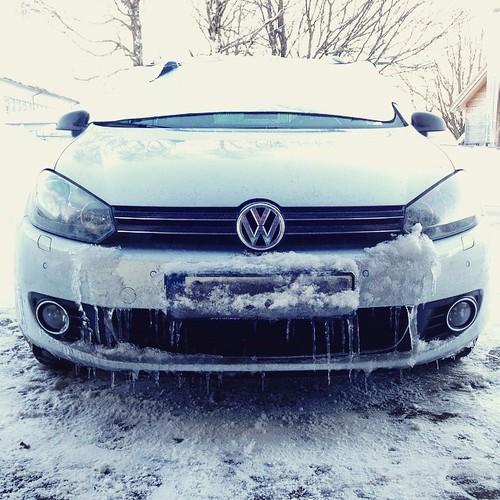 #VW #Golf #golf6 #winter