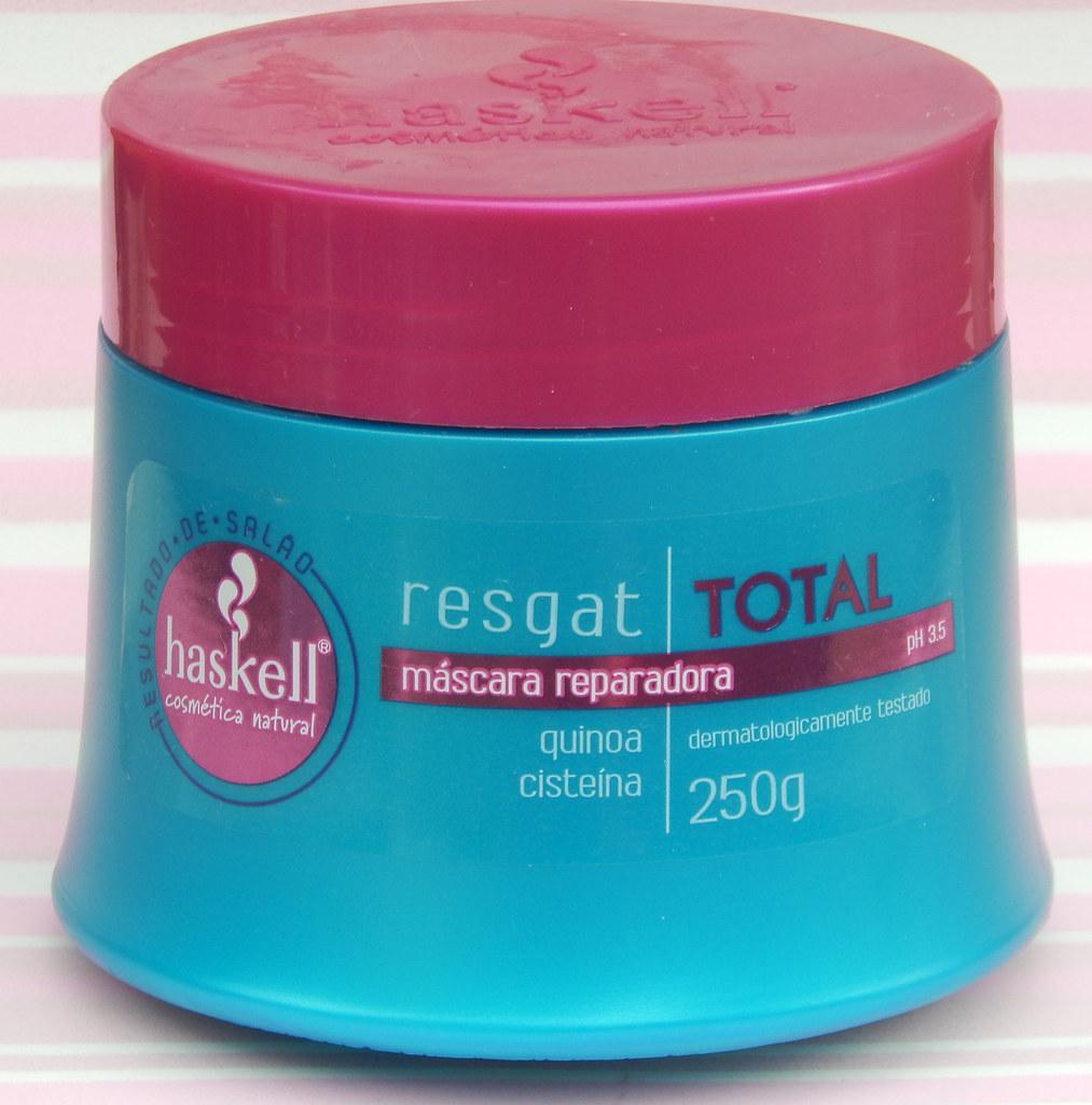 Máscara Reparadora Resgat Total da Haskell