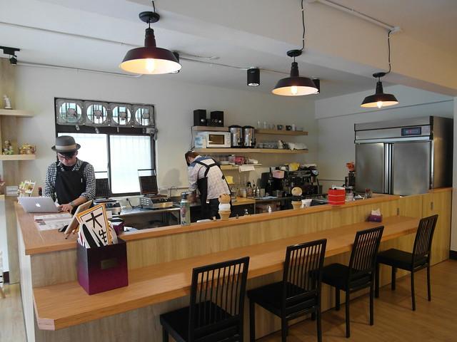 吧台區+開放式廚房@內湖港墘 Waffle Please比利時列日鬆餅