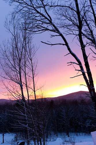 sunset mountain nature unitedstates newhampshire environment sunapee newbury mtsunapee