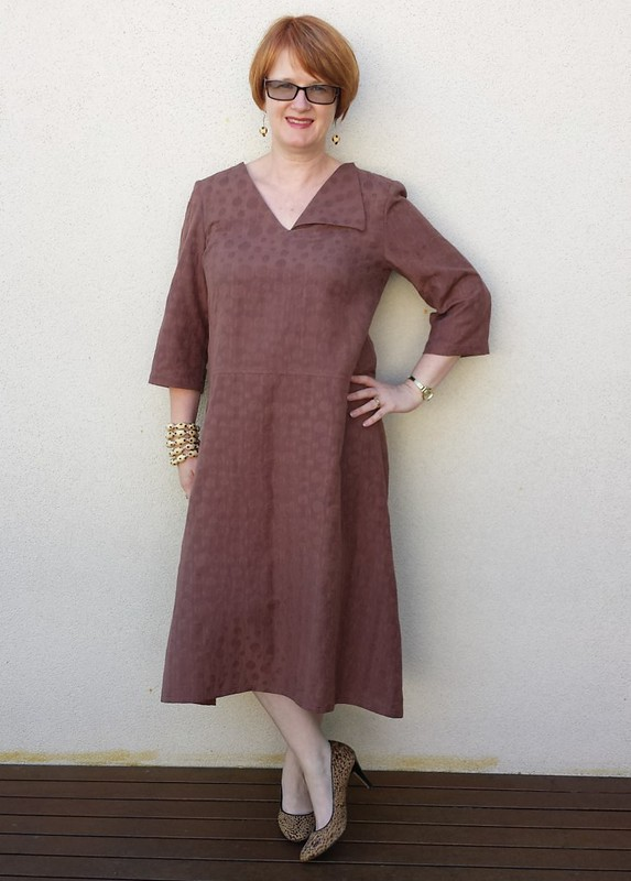 Tessuti Sophie Dress in silk cotton from Darn Cheap Fabrics