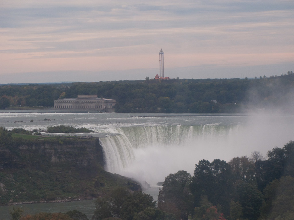 View of Horseshoe Falls from Skywheel
