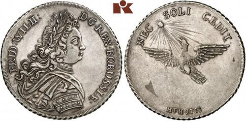 Lot 29 1713-1740. Reichstaler