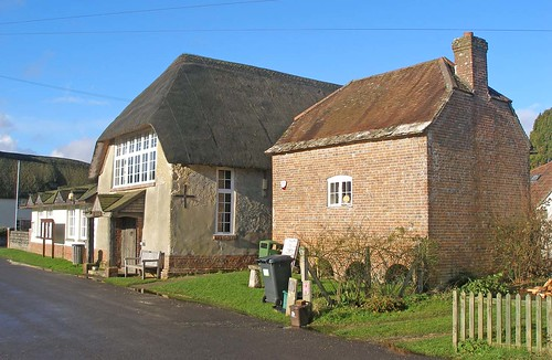 Village Hall and shop Briantspuddle