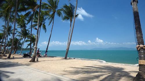 今日のサムイ島 2月3日 ボープットビーチ