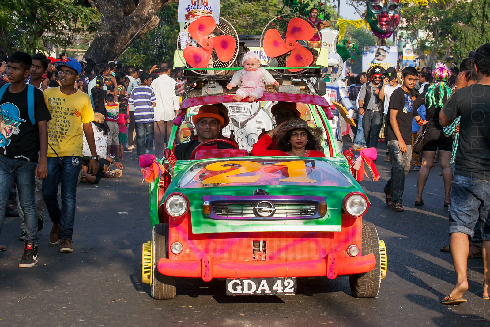Goa Carnival - Panjim, 2015