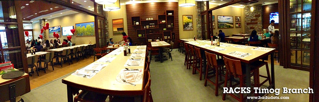 racks timog branch party area