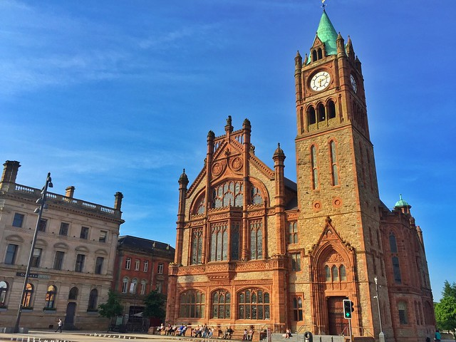 Torre del reloj de Derry (Irlanda del Norte)