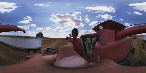 aarontraffas posted a photo:	Harvest 2016 with the LG 360 cam #vzreview