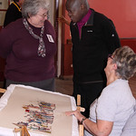 Archbishop, Shirley and Doreen, by Stamford Bridge Tapestry Project