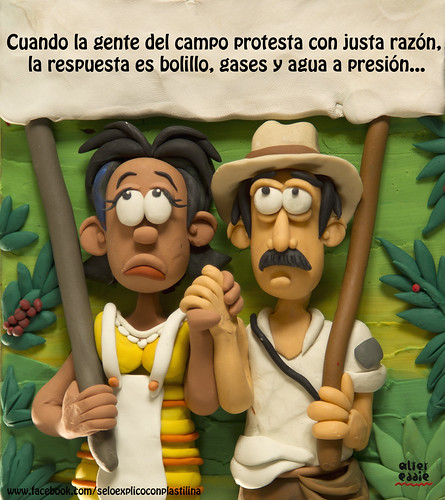 Protesta campesina by alter eddie