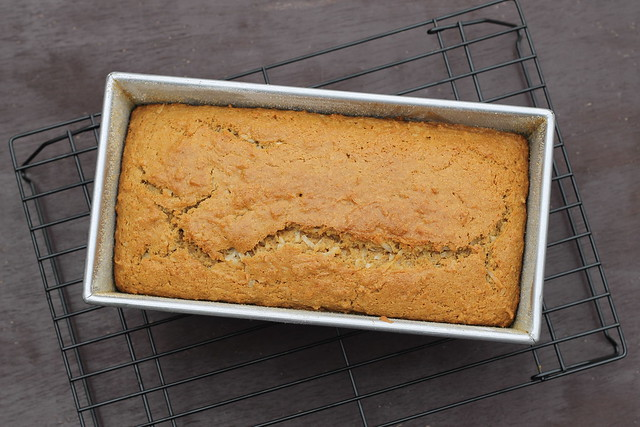 just baked Coconut Bread