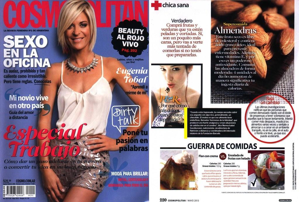 Revista Cosmopolitan Mayo 2013