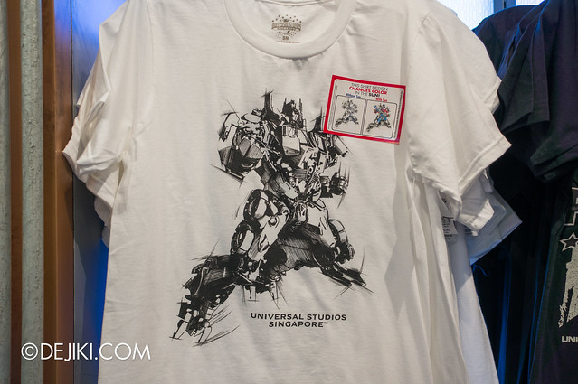 USS May Park Update - Transformers Optimus Prime UV activated T-shirt