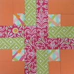 1 - Mary - Orange & Pink