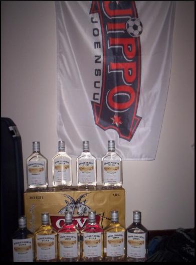 Botellas de Koskenkorva